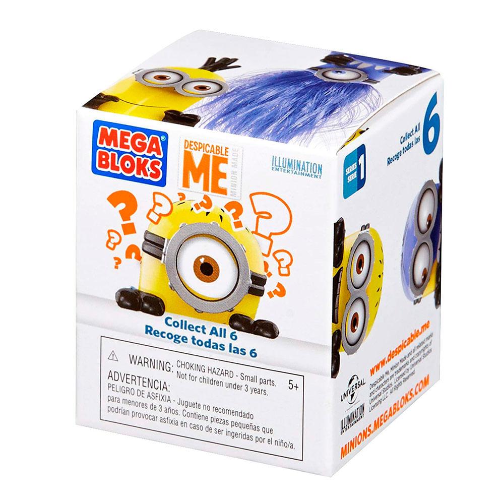 Mega Bloks Meu Malvado Favorito Minions Figura Surpresa - Mattel ... 5d10d0d378417