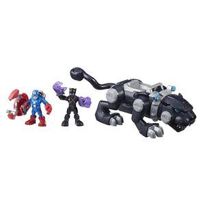 Playskool-Marvel-Super-Heroes-Adventures-Pantera-Negra---Hasbro