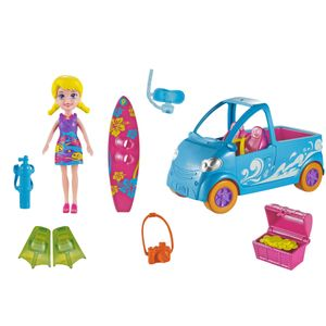 Polly-Pocket-Veiculos-Van-Surf---Mattel