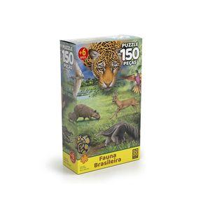 Quebra-Cabeca-Fauna-Brasileira-150-Pecas---Grow