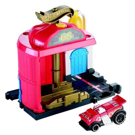 Hot-Wheels-City-Conjunto-Basico-Estacao-de-Bombeiro---Mattel