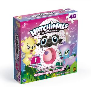Puzzle-48-Pecas-Hatchimals-com-Ovo-Surpresa---GROW