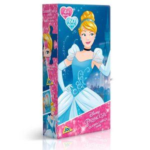 Quebra-Cabeca-Mini-60-Pecas-Princesas-Disney-Cinderela---Toyster