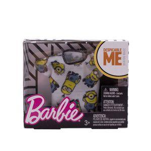 Barbie-Roupinhas-e-Acessorios-Camiseta-Branca-Minions---Mattel