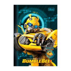 Caderno-Brochura-Capa-Dura-Universitario-Bumblebee-Zoom-80-Folhas---Tilibra