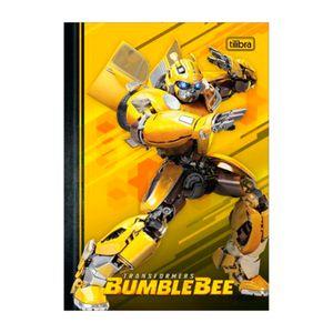 Caderno-Brochura-Capa-Dura-Universitario-Bumblebee-Fundo-Amarelo-80-Folhas---Tilibra