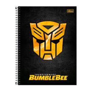 Caderno-Espiral-Capa-Dura-Universitario-Logo-Transformers-80-Folhas---Tilibra