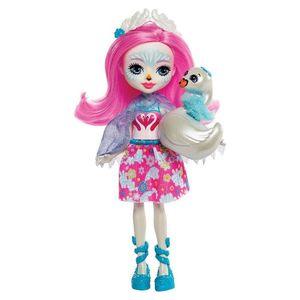 Enchantimals-Boneca-e-Bichinho-Saffi-Swan-e-Poise---Mattel