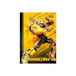 Caderno-Brochura-Capa-Dura-Bumblebee-Fundo-Amarelo-1-4-80-Folhas---Tilibra