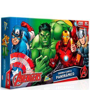 Os-Vingadores-Quebra-Cabeca-Panoramico-250-Pecas---Toyster