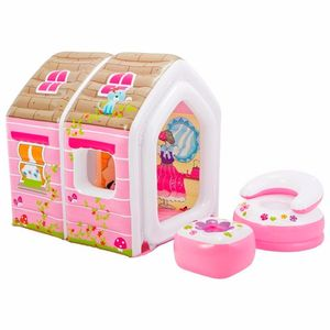 Casinha-das-Princesas-Inflavel-Infantil-Rosa---Intex