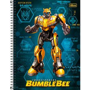 Caderno-Espiral-Capa-Dura-Bumblebee-Vision-256-Folhas---Tilibra