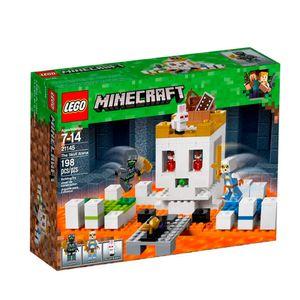 LEGO-Minecraft-21145-A-Arena-da-Caveira---Lego