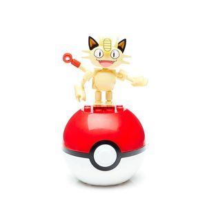 Mega-Construx-Pokemon-Pokebola-Meowth---Mattel