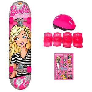 Barbie-Skate-com-Acessorios-de-Seguranca-e-Adesivos-My-Best-Friend--Fun-Divirta-Se