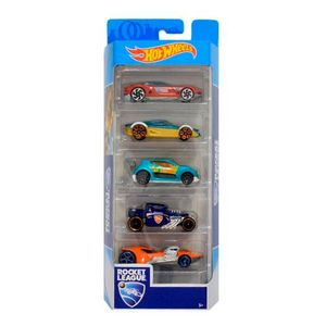 Hot-Wheels-Pacote-Presente-com-5-Carros-Rocket-League---Mattel