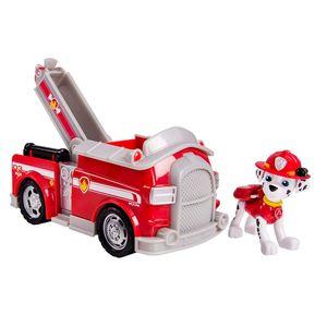 Patrulha-Canina-Veiculo-com-Figura-Marshall-Fire-Fight-Truck---Sunny-