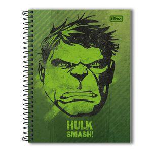 Caderno-Espiral-Capa-Dura-Colegial-Hulk-1M-80-Folhas---Tilibra