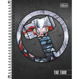 Caderno-Espiral-Capa-Dura-Colegial-Thor-10M-160-Folhas---Tilibra