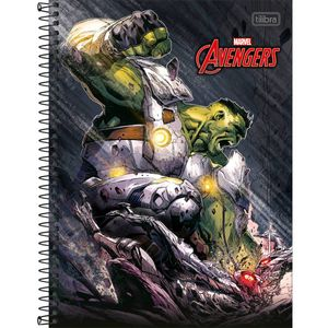 Caderno-Espiral-Capa-Dura-Universitario-Hulk-10M-200-Folhas---Tilibra