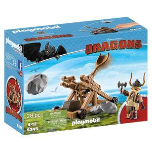 Playmobil---Como-Treinar-Seu-Dragao-Bocao-com-Catapulta---Sunny