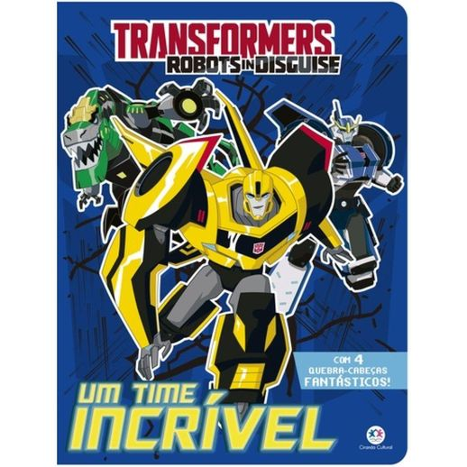 Livro-Transformers-Robots-in-Disguise-Um-Time-Incrivel---Ciranda-Cultural