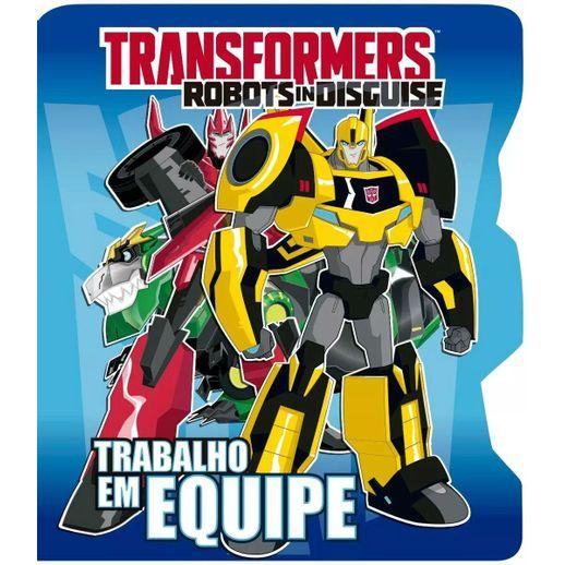 Livro-Transformers-Trabalho-em-Equipe---Ciranda-Cultural