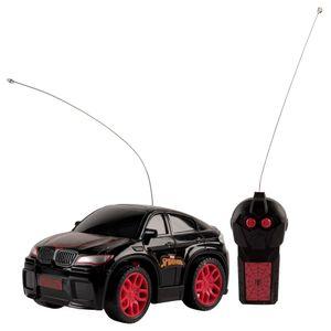 Carro-de-Controle-Remoto-Homem-Aranha-High-Speed-3-Funcoes-Preto-e-Vermelho---Candide
