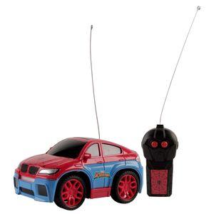 Carro-de-Controle-Remoto-Homem-Aranha-High-Speed-3-Funcoes-Azul-e-Vermelho---Candide