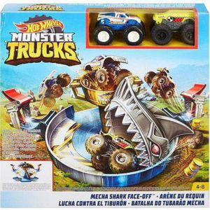 Hot-Wheels-Pista-Monster-Trucks-Batalha-do-Tubarao-Mecha---Mattel
