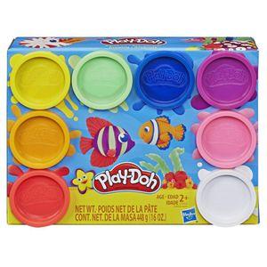 Play-Doh-Kit-com-8-Cores-do-Arco-iris-Atoxicas---Hasbro