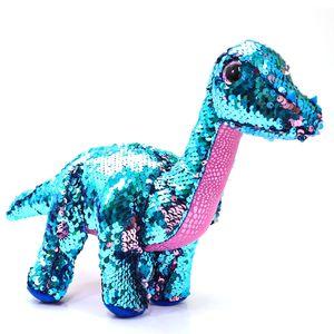Beanie-Boos-Paete-Medio-Tremor-Dinossauro-Azul-E-Cor-De-Rosa---DTC