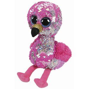 Beanie-Boos-Paete-Medio-Pinky-Flamingo-Cor-De-Rosa---DTC-