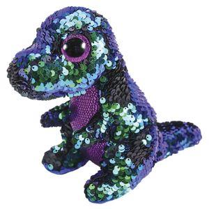 Beanie-Boos-Paete-Medio-Crunch-Dinossauro-Verde-Roxo---DTC