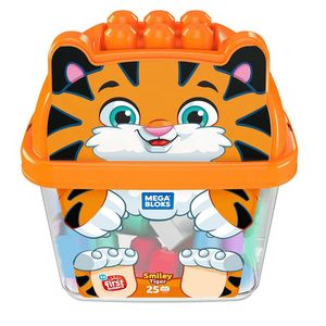 Mega-Bloks-Balde-de-Animais-Tigre---Mattel