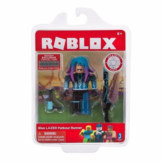 Boneco-Roblox-Blue-Lazer-Parkour-Runner---Fun-Divirta-se