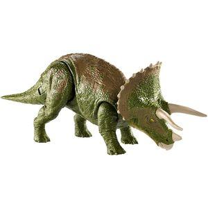 Jurassic-World-Super-Dinossauros-de-Batalha-Triceratops---Mattel