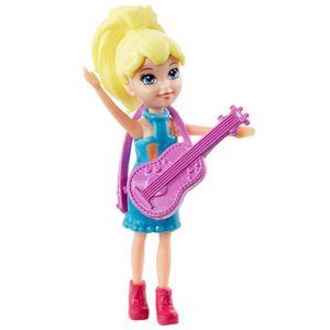 Polly-Pocket-com-Vestido-de-Guitarra---Mattel