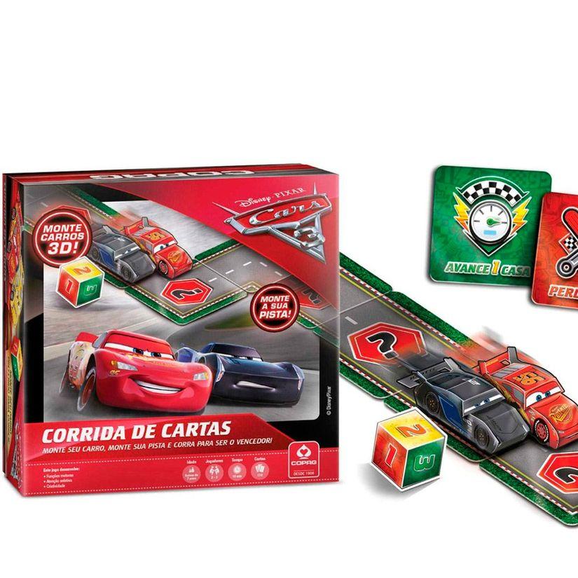 633511c1c2 Jogo de Cartas Corrida Carros 3 - Copag