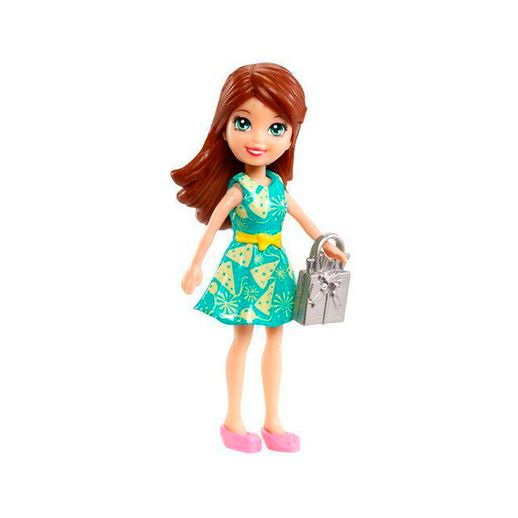 Polly-Pocket-Lila-Vestido-Verde---Mattel