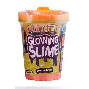 Glowing-Slime-Brilhante-Laranja---Fun-Divirta-se