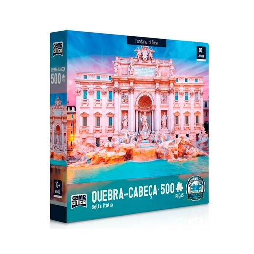 Quebra-Cabeca-500-Bella-Italia-Fantana-Di-Trevi---Toyster