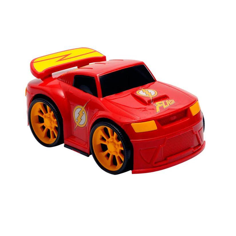 e172c1ac0 Carrinho de Roda Livre Liga da Justiça Race Machine The Flash - Candide