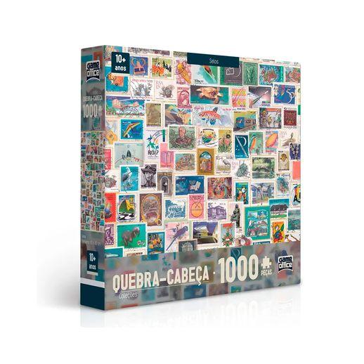Quebra-Cabeca-1000-Pecas-Colecoes-Selos---Toyster