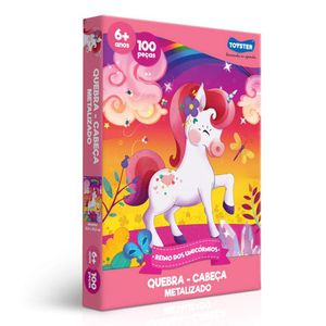 Quebra-Cabeca-Reino-dos-Unicornios-100-Pecas---Toyster