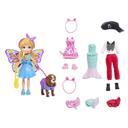 Polly-Pocket-Kit-Cachorro-Fantasias---Mattel