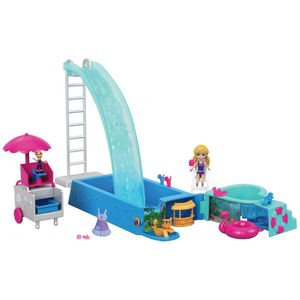 Polly-Pocket-Piscina-Surpresas-Escondidas---Mattel
