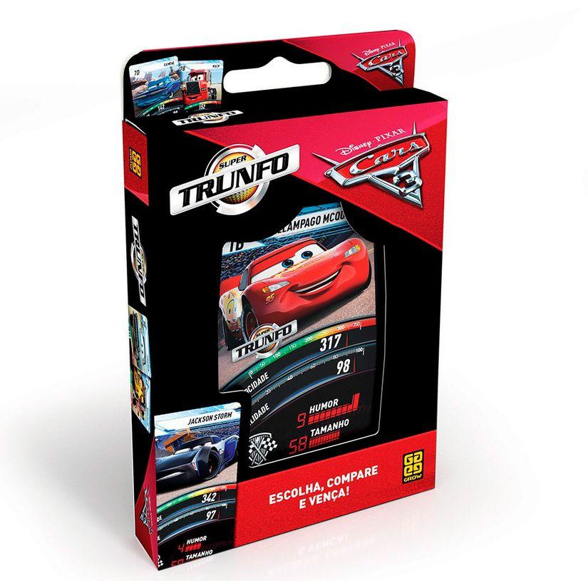 ecad79eb04 Jogo Super Trunfo Carros 2 - Grow