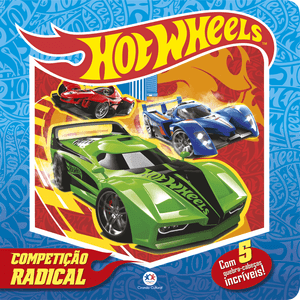 Livro-Hot-Wheels-Competicao-Animal---Ciranda-Cultural