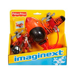 Imaginext-Aviao-Sky-Racer-Tubarao-Tigre---Fisher-Price---Mattel---25406
